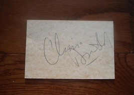 Former Senator Chris Dodd Of Connecticut Hand Signed 3x5 Card - $15.00