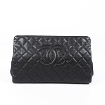 Chanel Timeless Quilted Caviar Clutch - $2,005.00