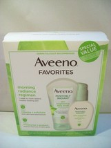 NEW AVEENO FAVORITES POSITIVELY RADIANT SKIN BRIGHTENING SCRUB DAILY MOI... - $14.65