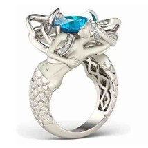 2019 Newest Fashion 7 colors Mermaid Ring  AAAAA CZ Party Wedding Band R... - $17.57