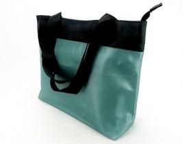 Tritek II Tote Bag, Teal, Large Capacity, 15 x 13, Zipper Closure, Sweda... - $14.65