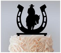Wedding,Birthday,Cake topper,Cupcake topper,western cowboy-horseshoe : 11 pcs - $20.00