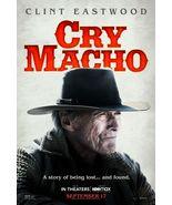 "Cry Macho Poster Clint Eastwood Movie Art Film Print Size 11x17"" 24x36"" ... - £7.89 GBP+"