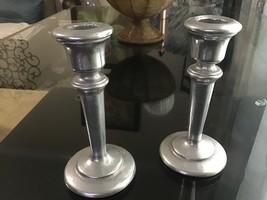 Armetal Pewter Candlestick, Set of 2 - $12.00