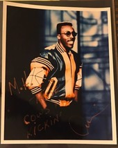 ARSENIO HALL Signed Autographed Photo Basketball Leather Jacket MICHAEL ... - $279.57