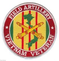 "ARMY FIELD ARTILLERY VIETNAM WAR VETERAN RIBBON  4"" EMBROIDERED MILITARY... - $18.04"