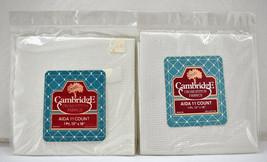 "Set of 2 Cambridge 11 Count Cotton Aida Cross Stitch Fabric - White 12"" ... - $8.50"