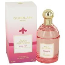 Aqua Allegoria Rosa Pop by Guerlain Eau De Toilette Spray 3.3 oz for Women - $43.99