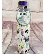 Manna Retro 20 oz Double Insulated Water Bottle Frenchie Bulldogs Macarons - $26.59