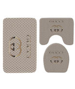 Hot Sale Gucci484 Toilet Set Anti Slip Good For Decoration Your Bathroom  - $20.09