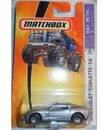 "Matchbox MBX Metal ""Chevrolet Corvette C6"" Ready For Action #20 Mint On... - $4.00"