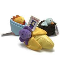 Manhattan Toy Pop Out Pets Animals Finger Puppets Monkey Bird Goldfish  ... - $9.46