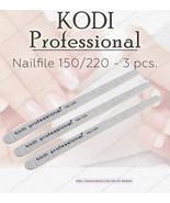 NEW Kodi professional Nailfile Drop 150/220 for natural nails - $14.85