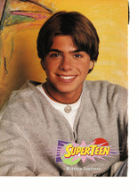 Matthew Lawrence teen magazine pinup clipping yellow background Bop vintage 90's