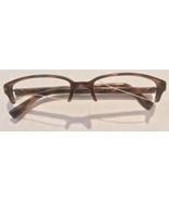 Gucci G Unisex Brown Havana Eyeglasses Glasses Frames 130 GG 2532 GN5 Optyl - $59.99