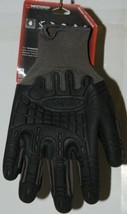 MADGRIP 495725 Thunderdome Impact Gloves Black Grey Rubber XL image 2