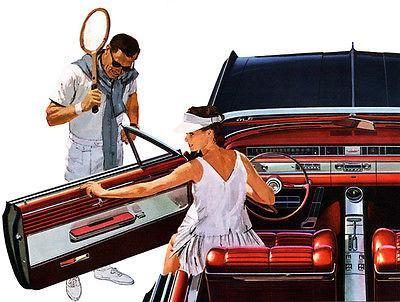 Primary image for 1964 Oldsmobile Starfire Convertible - Promotional Advertising Poster