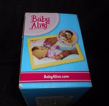 BABY ALIVE LUV N SNUGGLE HASBRO 2015 AFRICAN AMERICAN DOLL W/ BOTTLE IN BOX image 6