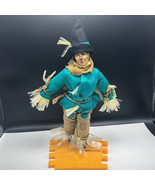 TURNER WIZARD OF OZ DOLL 1987 VINTAGE figure loews ren mgm presents Scar... - $123.75