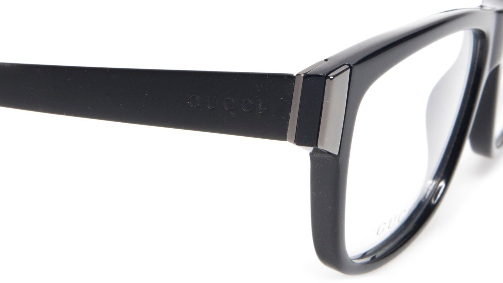 2c587e4363a NEW GUCCI GG 3719 ACZ BLACK EYEGLASSES GLASSES FRAME 53-14-140 B40mm Italy