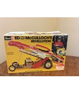 NEW ORIGINAL 1975 Issue Revell Ed McCulloch's Revellution Funny Car H-1465 - $99.95