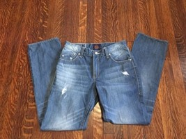 Rock Republic Jeans Mens Neil Relaxed Straight Distressed R Pocket 30x32... - $16.78