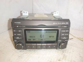 09 10 Hyundai Sonata XM Ready Radio 6 Disc Cd Mp3 Player 96195-3K101 ELK51 - $111.38