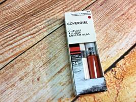 Cover girl Outlast all day custom reds 810 orange -u-gorgeous new - $6.79