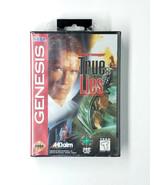 True Lies Sega Genesis Game 1995 Factory Sealed Rare - $180.00