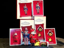 Hallmark Handcrafted Ornaments AA-191785 Collectible (4 Pieces ) image 6