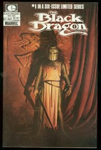 BLACK DRAGON #1 1985-MARVEL COMICS-LIMITED SERIES VF - $18.62