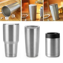 Vacuum Insulated 12/20/30oz Travel Cup Stainless Steel Double Wall Tumbl... - $65.50