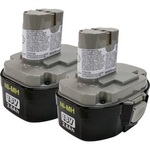 Makita 194158-6 1834 18-Volt 2.6 Amp Hour NiMH Pod Style Battery, 2 Pack - $131.74