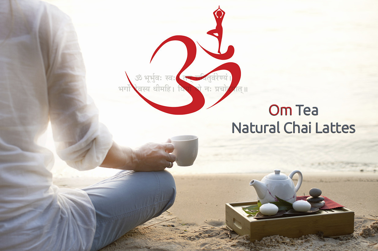 Traditional Chai Latte, with Cardamom, Ashwagandha Root, OM Tea, 15 count box