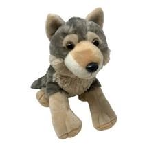 "Wild Republic Plush Wolf Husky Soft Stuffed Animal 2016 K&M Toy 12"" - $13.50"