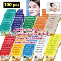 Premium Pure 100x Ultra Full Face Mask Sheet Treatment Combo Travel Kore... - $58.41