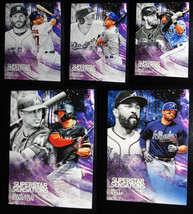 2018 Topps Series 1 Superstar Sensations Baseball Cards You Pick From List - $0.99