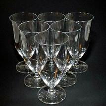 6 (Six) LENOX TUSCANY CLASSICS Crystal Ice Tea Glasses - Signed - $113.99