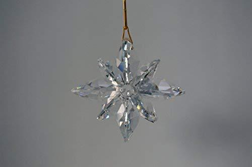 Crystal Nautical Star Suncatcher - Clear