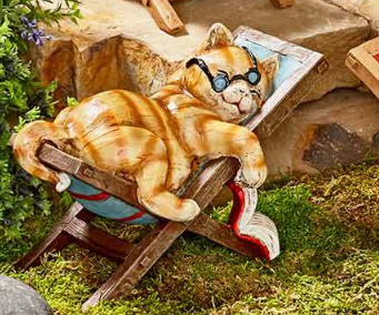 Primary image for Relaxing Garden Cat