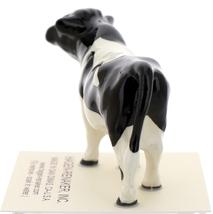 Hagen-Renaker Miniature Ceramic Cow Figurine Holstein Bull Cow and Calf Set image 14