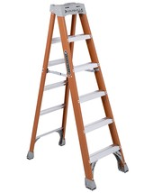 Louisville Ladder 6-Foot Fiberglass Ladder, 300-Pound Capacity, Type 1A,... - $127.98