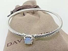 $350 David Yurman Women's 3mm Chatelaine Bracelet With Moonstone - $199.99