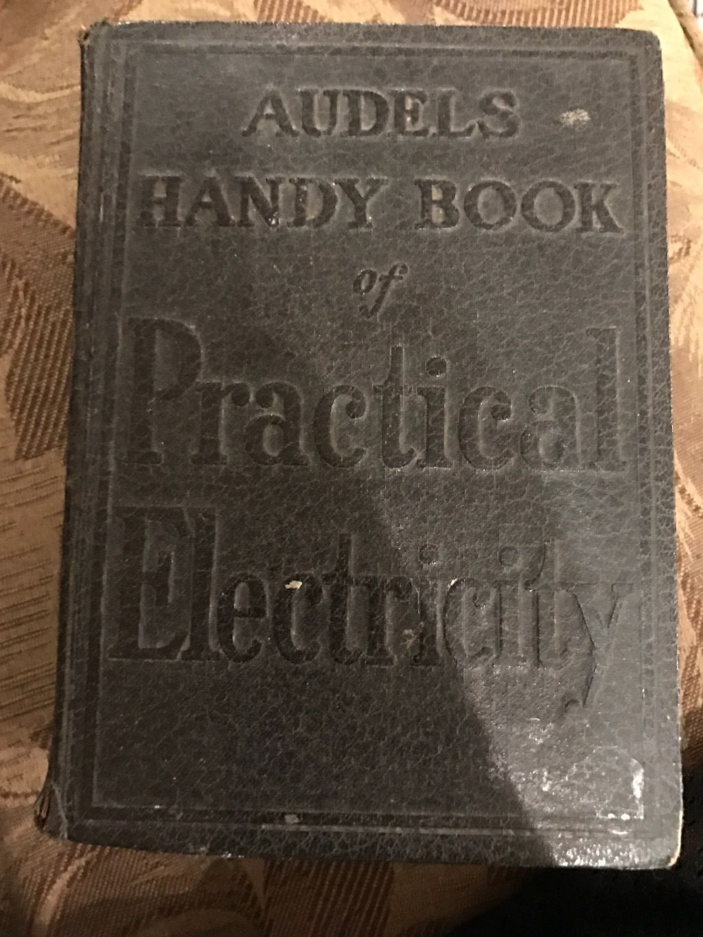 Primary image for Audels Handy Book Of Practical Electricity., Very Good Books