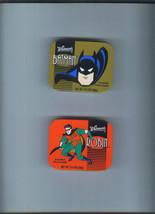 BATMAN & ROBIN Lot of 2 1997 Whitman's Chocolate Tins Whitman DC Comics - $9.99