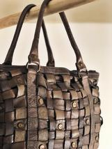 Intreccio 101 handmade woven leather bag  image 6