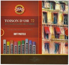 Set of artist´s soft pastels 8517 72 colours KOH-I-NOOR NOVELTY good price - $46.61