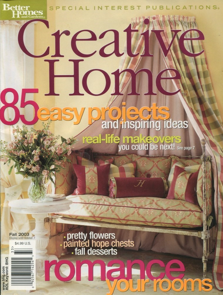 Primary image for BH&G CREATIVE HOME - Fall 2003