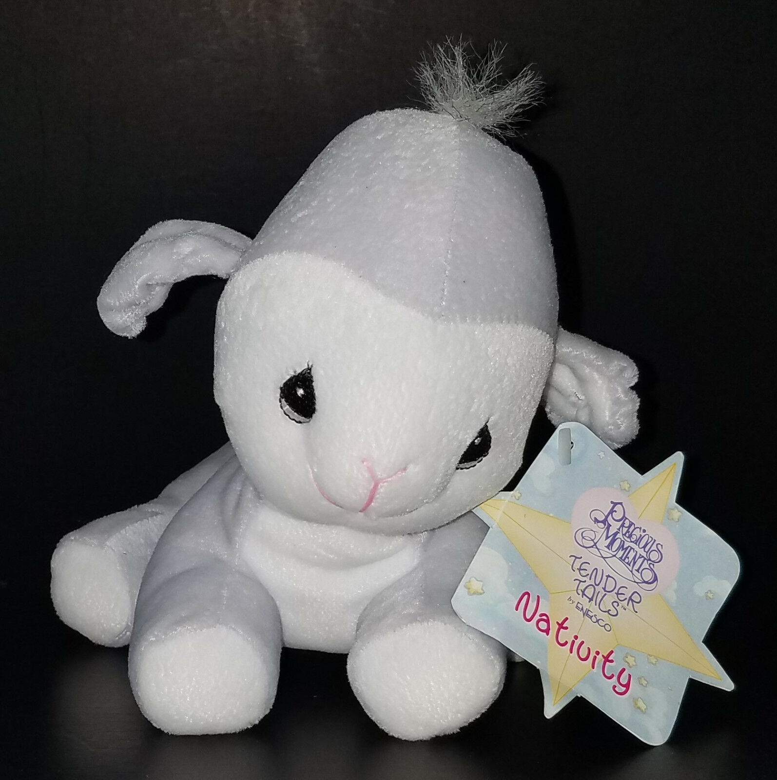 Primary image for Precious Moments Tender Tails by Enesco LAMB Bean Bag Plush Sheep Nativity 1999