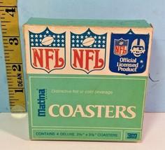 Matina 3M Official NFL Football Atlanta Falcons Coasters in Box - $29.65